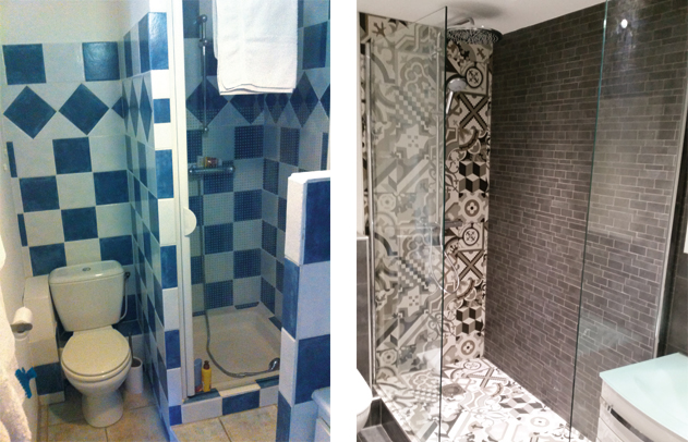 Renovation complete dune salle de bain avant