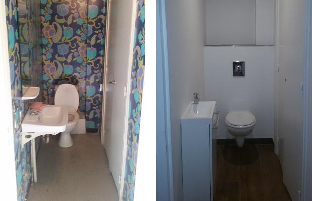 Renovation Sanitaire Saint-Etienne - Avant