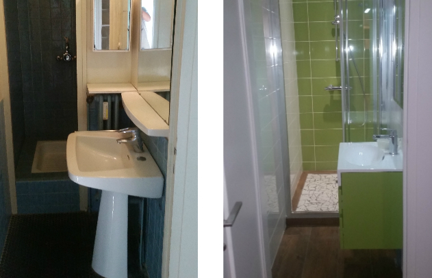 Renovation salle de bain - Apres