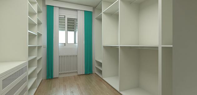 Créer ou rénover un dressing, espace de rangement idéal